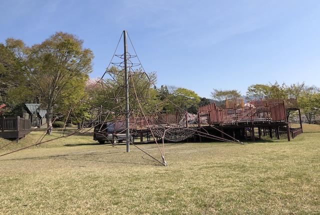 水上カントリーパーク遊具広場