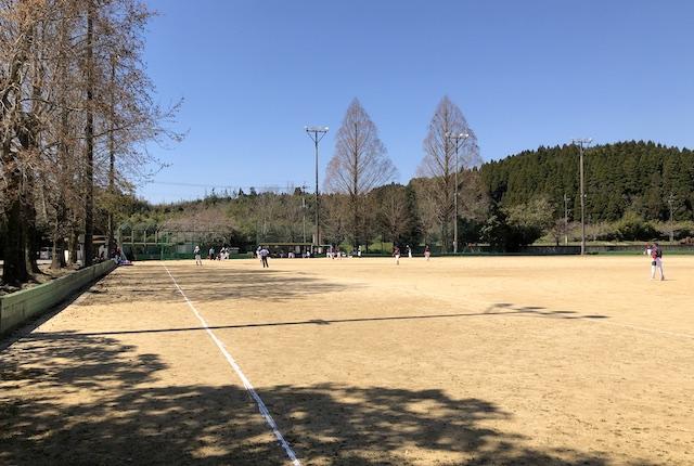 人吉市第一市民運動広場ソフトボールコート