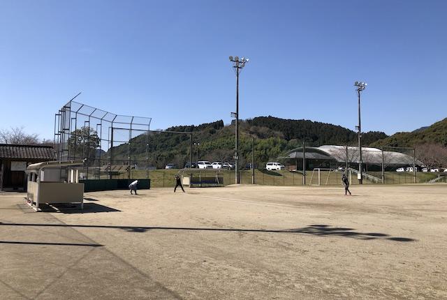球磨村総合運動公園野球場