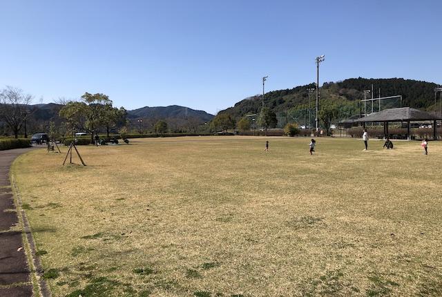 球磨村総合運動公園芝生広場