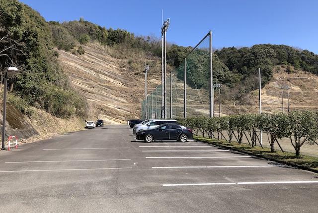 球磨村総合運動公園駐車場