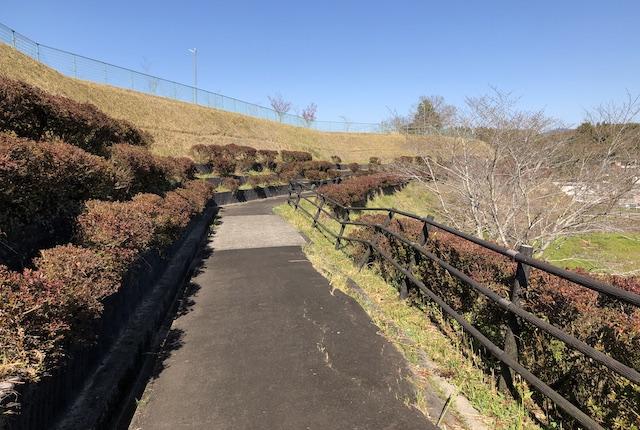 蔵城公園崖崩れ