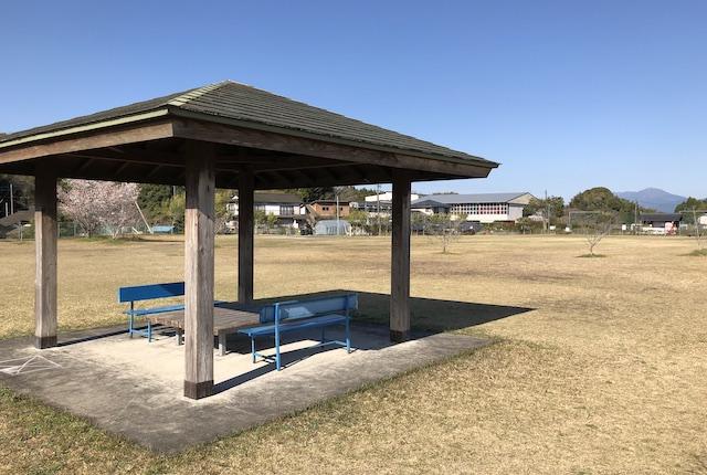 蔵城公園東屋