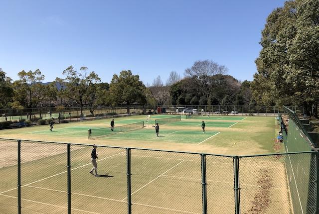 村山公園テニスコート