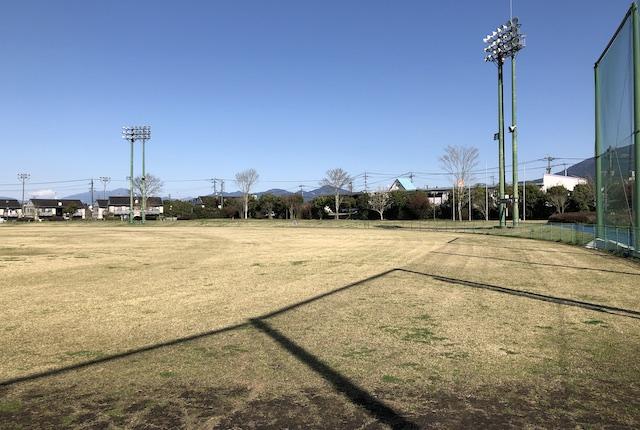 錦町国体記念球場外野