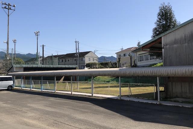 錦町民グラウンド弓道場