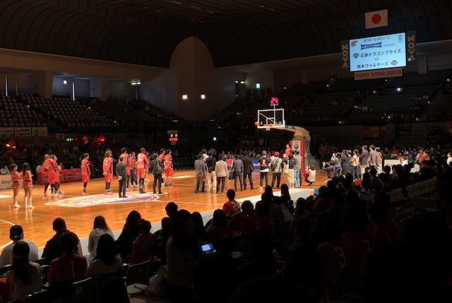 広島ドラゴンフライズ始球式