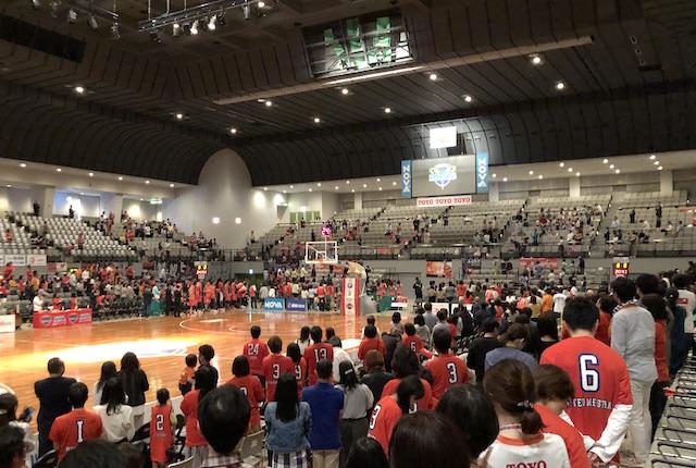 広島サンプラザホール国歌斉唱