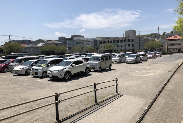 鹿児島アリーナ臨時駐車場