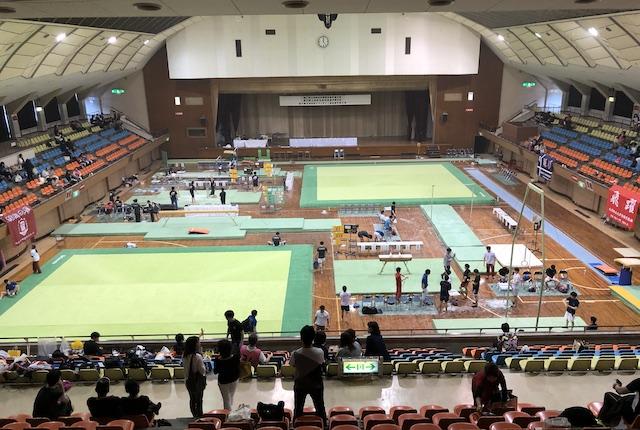鹿児島県総合体育センター体育館アリーナ
