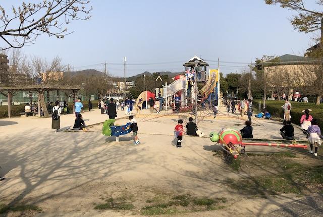 松江市北公園こども広場