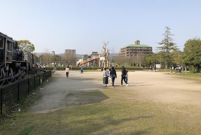 松江市北公園展示広場