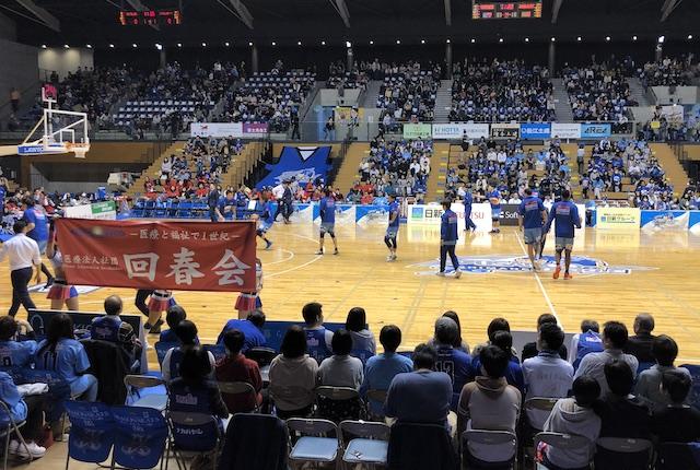 松江市総合体育館ゲームスポンサー