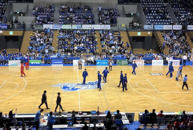 松江市総合体育館サインボール