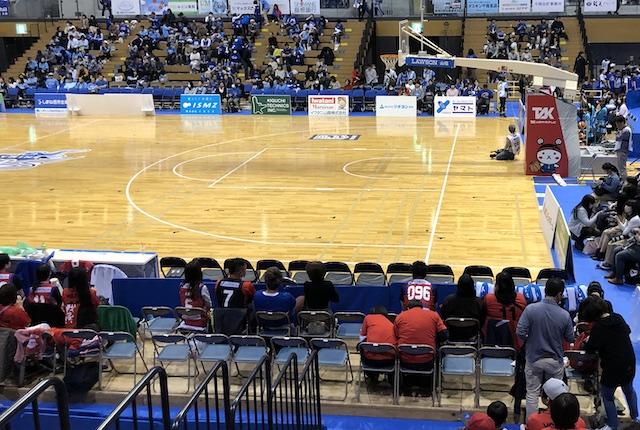 松江市総合体育館アリーナAバック