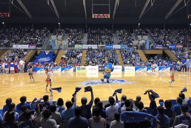 松江市総合体育館チア