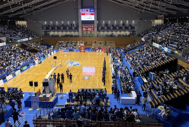 松江市総合体育館の座席