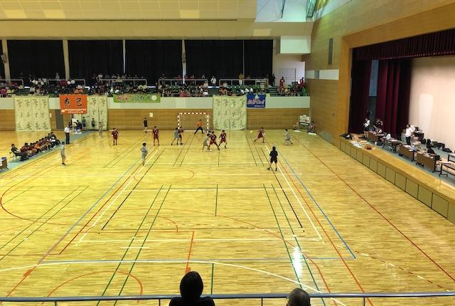 吉田文化体育センター体育館