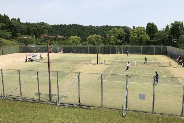 吉田運動場テニスコート