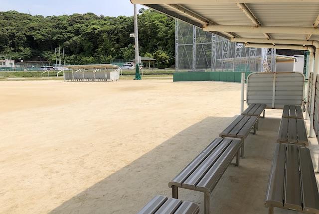 いちき串木野市総合運動公園野球場
