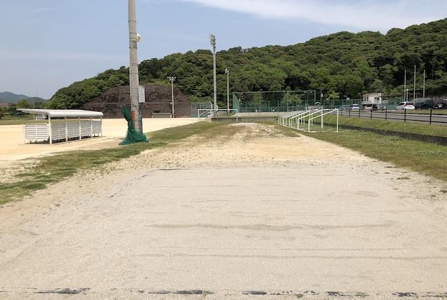いちき串木野市総合運動公園走り幅跳び場