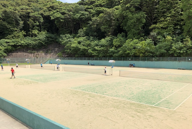 いちき串木野市テニスコート