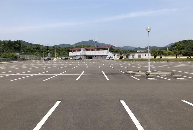 いちき串木野市総合運動公園駐車場