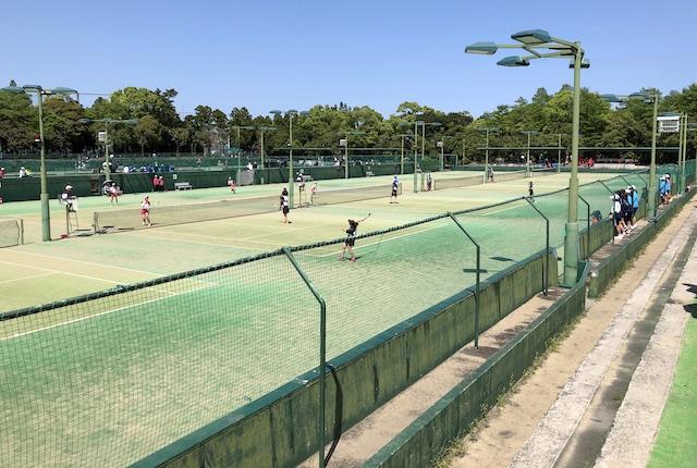 KIRISHIMAヤマザクラ宮崎県総合運動公園庭球場