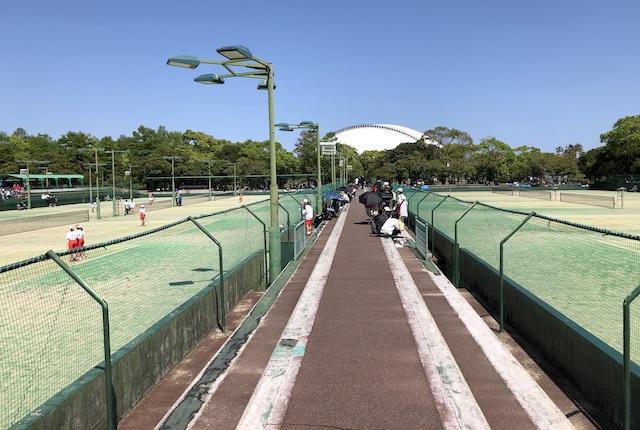 宮崎県総合運動公園テニスコート