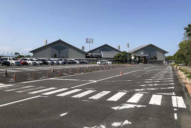 宮崎県総合運動公園駐車場