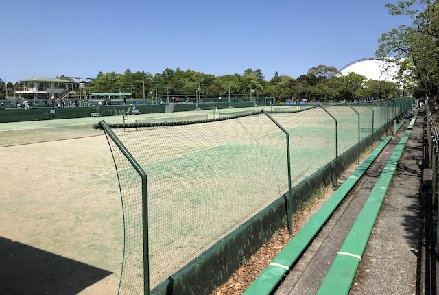 宮崎県総合運動公園庭球場