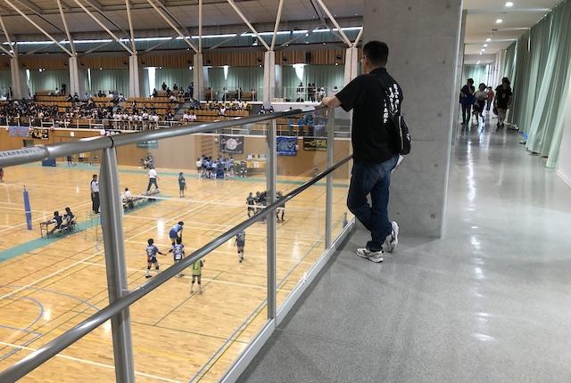 いちき串木野市総合体育館ランニングロード