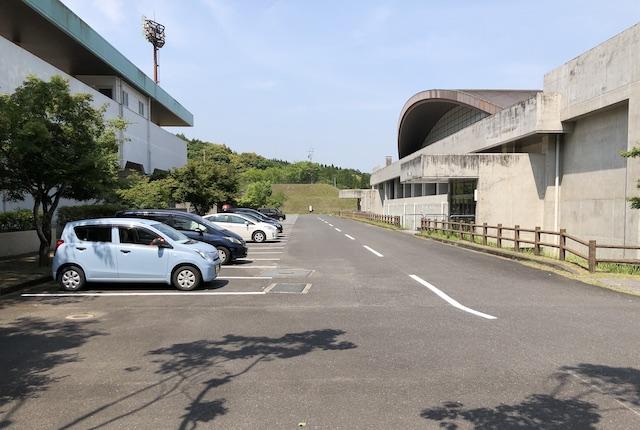 みやまの森運動公園駐車場