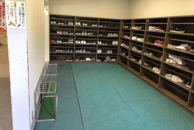牧園アリーナ靴箱