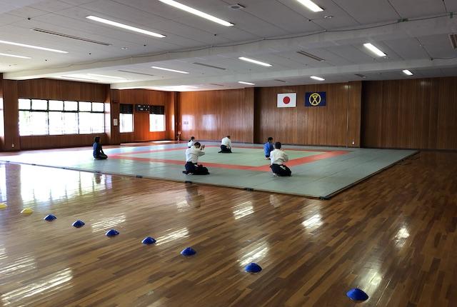 宮崎市総合体育館柔道場