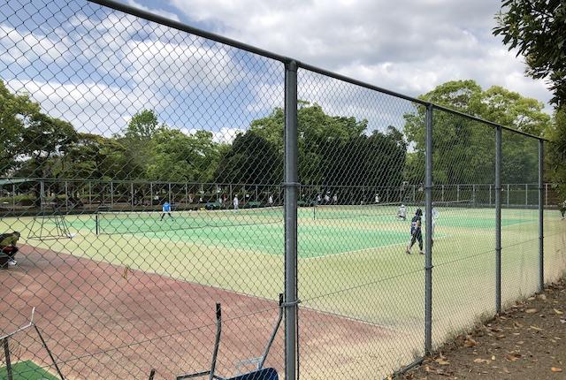 宮崎中央公園テニスコート