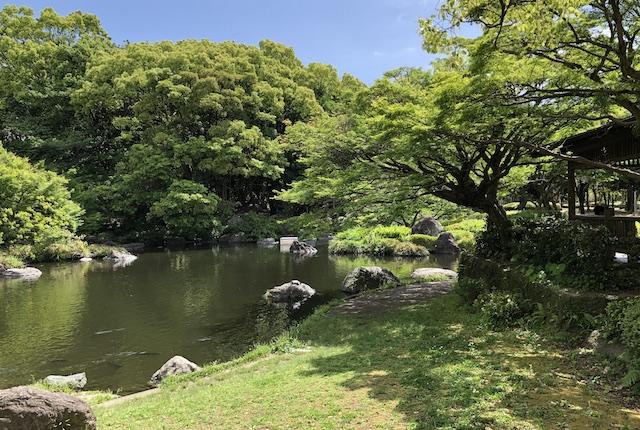 宮崎市中央公園日本庭園