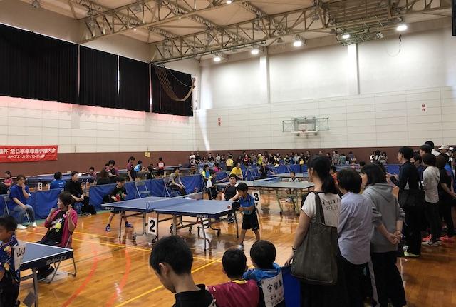 宮崎県体育館別館第一競技場
