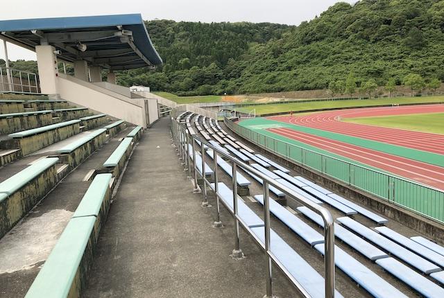 薩摩川内市総合運動公園陸上競技場スタンド