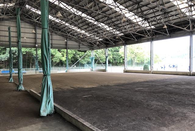 薩摩川内市総合運動公園投球練習場