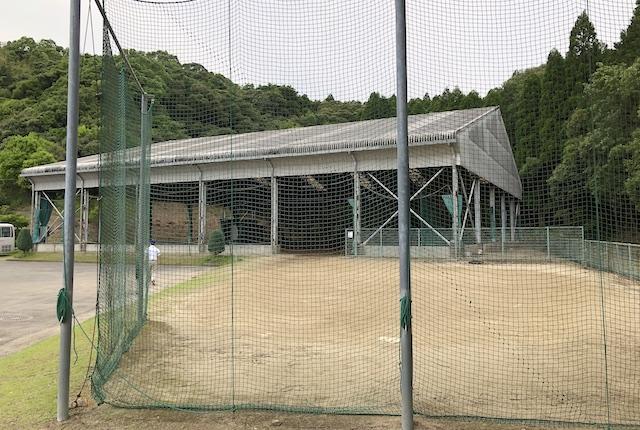 薩摩川内市総合運動公園野球練習場