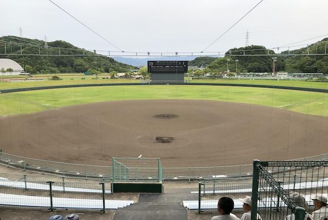 薩摩川内市総合運動公園野球場