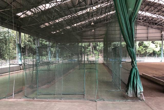 薩摩川内市総合運動公園打撃練習場