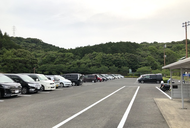 薩摩川内市総合運動公園第3駐車場