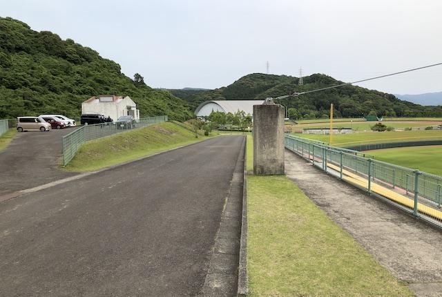 薩摩川内市総合運動公園野球場駐車場