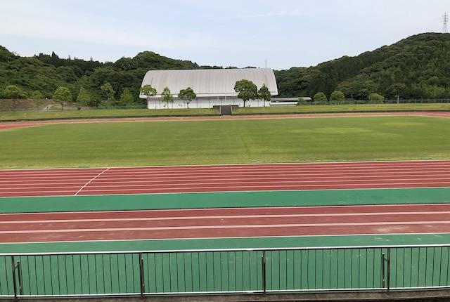 薩摩川内市総合運動公園陸上競技場