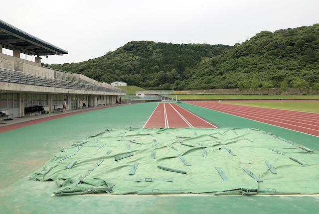 薩摩川内市総合運動公園陸上競技場走り幅跳び