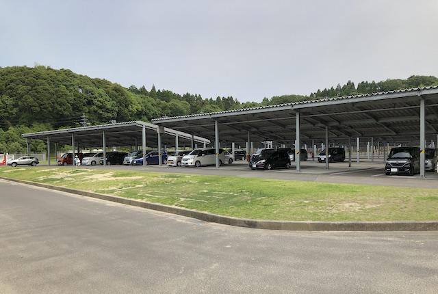 薩摩川内市総合運動公園第4駐車場