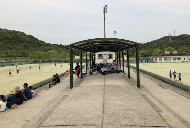 薩摩川内市総合運動公園テニスコートスタンド
