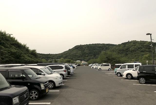 薩摩川内市総合運動公園駐車場